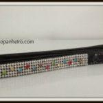 Black crystal Leash