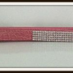 pink crystal leash